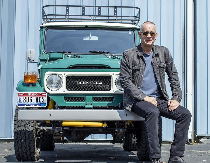 Tom Hanks przerobił toyotę tak, by dawała radość i komfort nie tylko w terenie, ale też w trasie