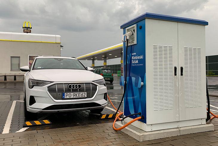 Szybkie stacje ładowania ułatwiają podróżowanie elektrykiem po kraju
