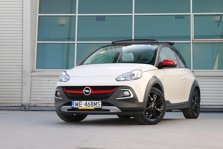 Opel Adam Rocks to bez wątpienia wyjątkowy samochód