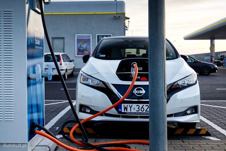 Nissan Leaf jest jednym z najpopularniejszych elektryków w Europie