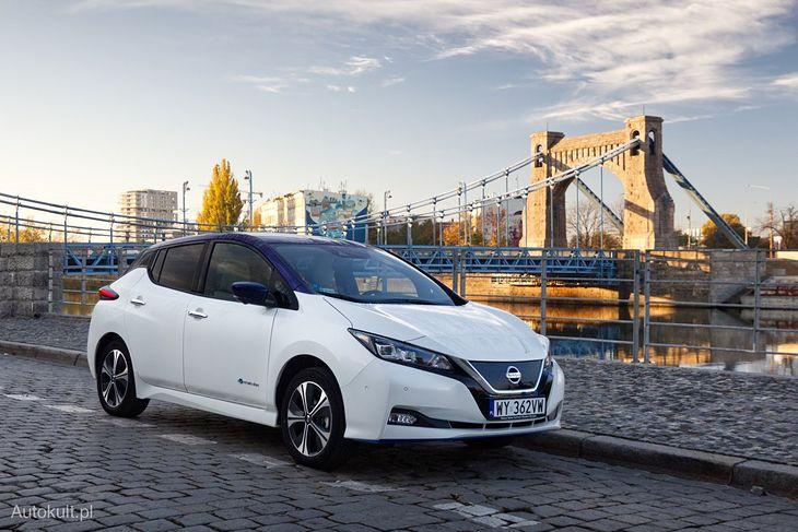 Nissan Leaf. Zmieniły się głównie detale niewidoczne z zewnątrz.