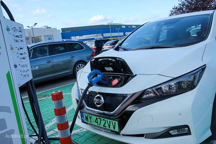 To Nissan Leaf rozpropagował złącze CHAdeMO