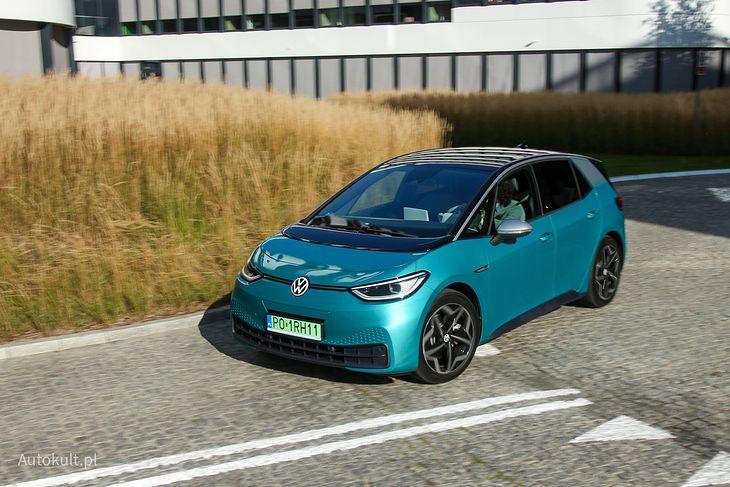 ID.3 w 2020 roku był drugim najpopularniejszym autem w Polsce.
