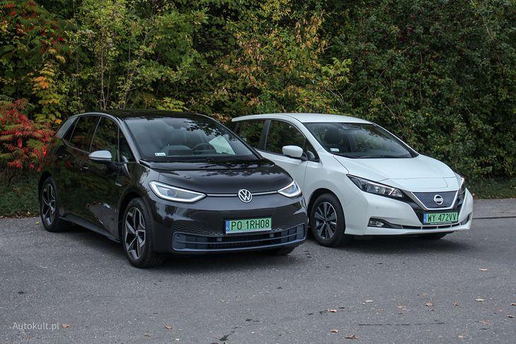 Volkswagen ID.3 i Nissan Leaf zakończyły styczeń 2021 roku z takim samym wynikiem - 6 rejestracji