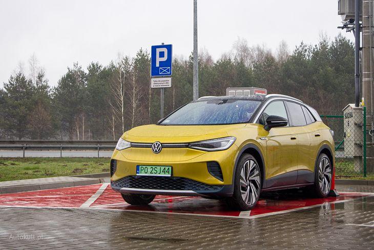Volkswagen ID.4 już na pierwszy rzut oka pokazuje, że jest elektryczny