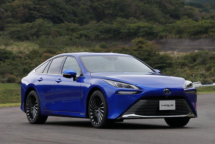 Toyota Mirai to jedno z aut zapowiadających przyszłość motoryzacji.