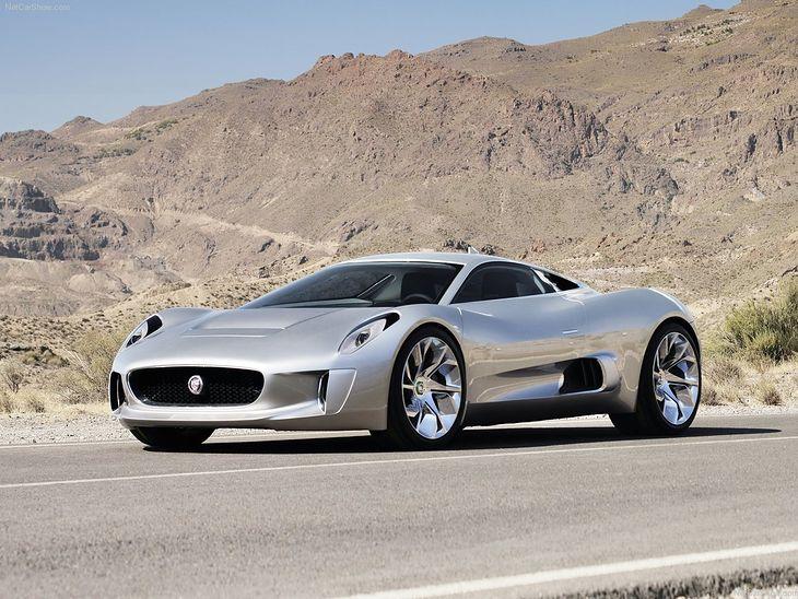 Jaguar C-X75 Concept (zdjęcie poglądowe)
