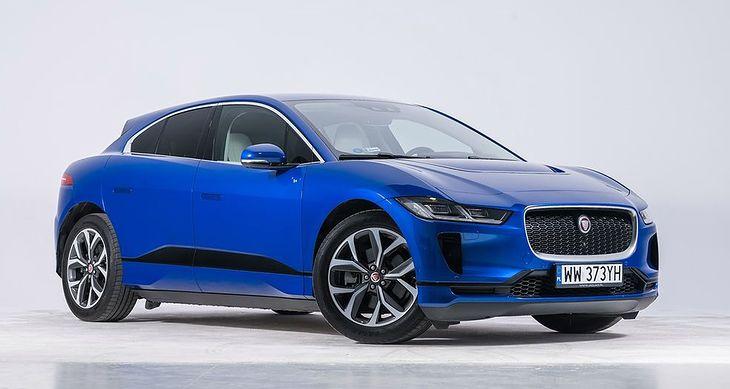 Zeszłoroczny zwycięzca - Jaguar I-Pace.