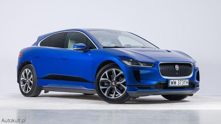 Jaguar I-Pace na sesji zdjęciowej do plebiscytu Samochód Roku Wirtualnej Polski