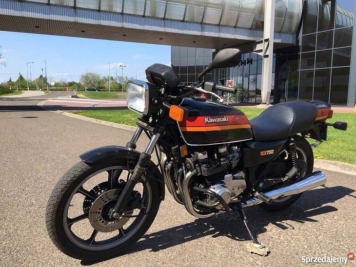 Kawasaki KZ 750 z 1984 roku został wystawiony do sprzedania za 6900 zł