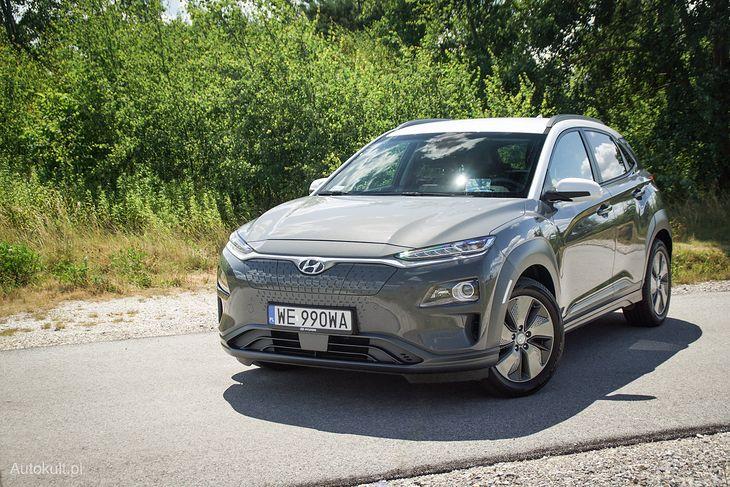 Hyundai Kona Electric ma teraz jeszcze większy zasięg.