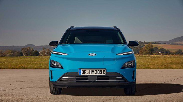 Hyundai Kona Electric jest dostępny w dwóch wariantach.