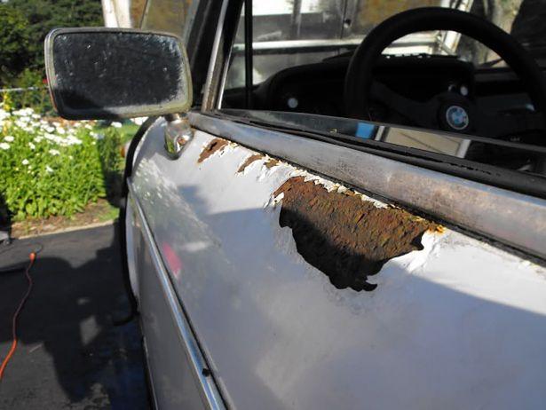 Auta podatne na korozję