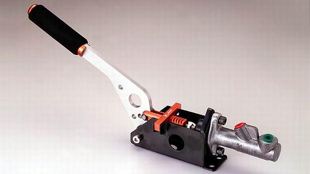 Hydrauliczny hamulec postojowy