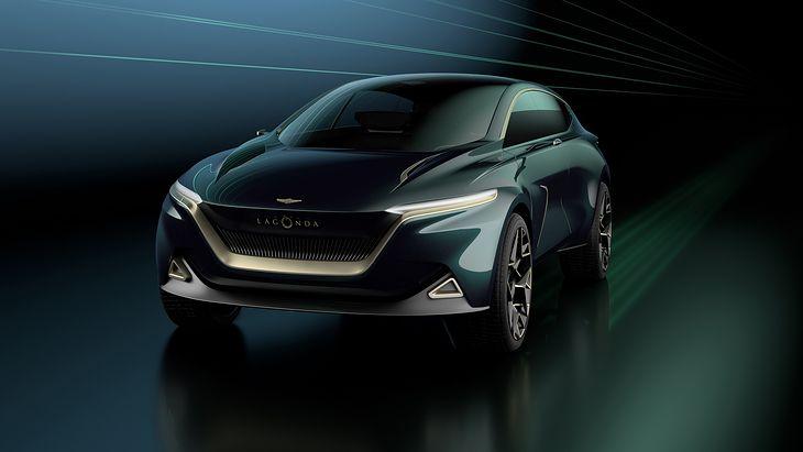 Lagonda All-Terrain Concept zapowiadał w 2019 roku elektryczną przyszłość Astona Martina