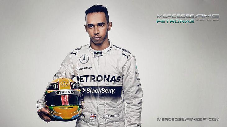 Lewis Hamilton w 2014 roku