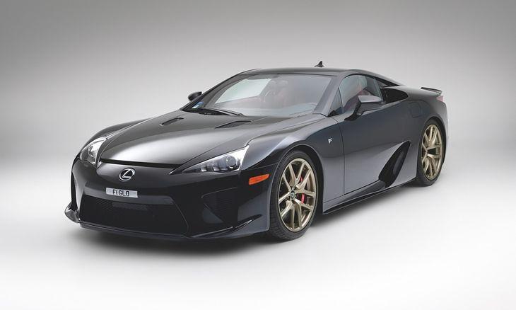 Lexus LFA po latach tylko zyskuje na wartości