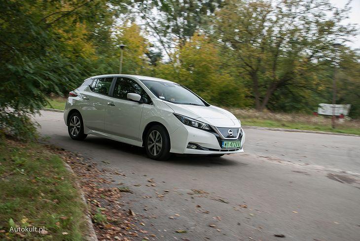 Nissan Leaf ma zalety, które ułatwiają życie z nim na co dzień