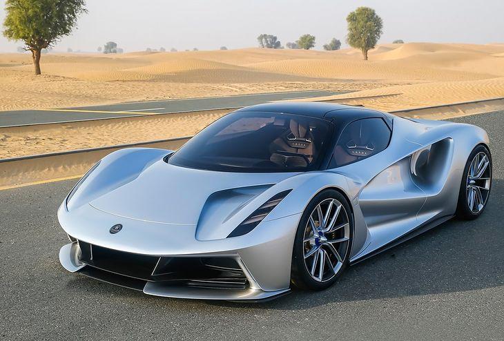 Evija to najmocniejsze drogowe auto świata.