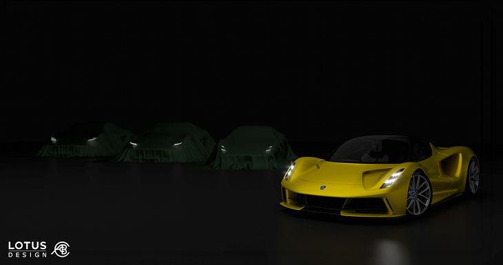 To tylko zapowiedź nowego Lotusa.