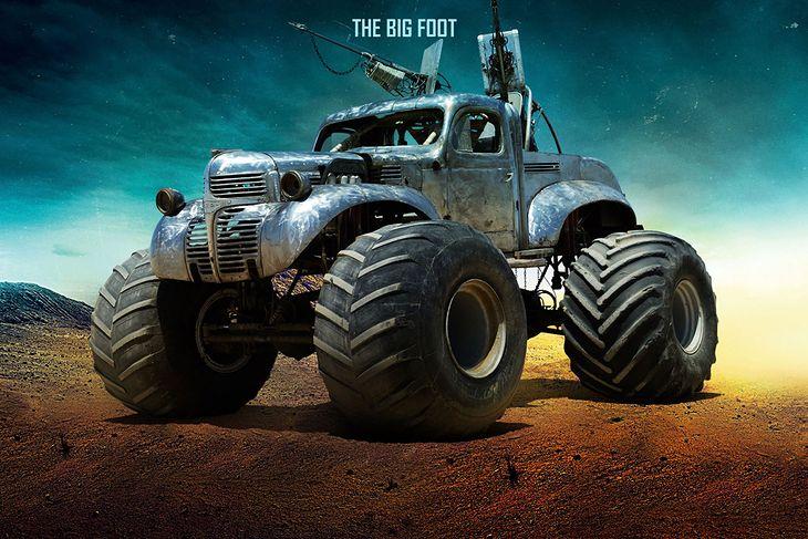 W filmie Mad Max Fury Road można podziwiać ponad 100 wyjątkowych maszyn.