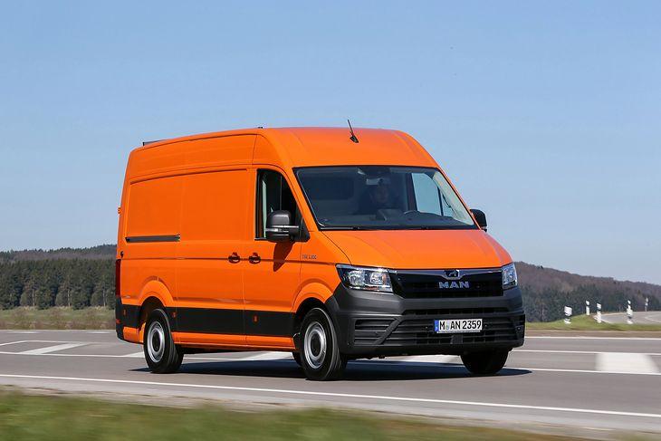 MAN TGE to Volkswagen Crafter z innym znaczkiem, przeznaczony dla innej grupy odbiorców.
