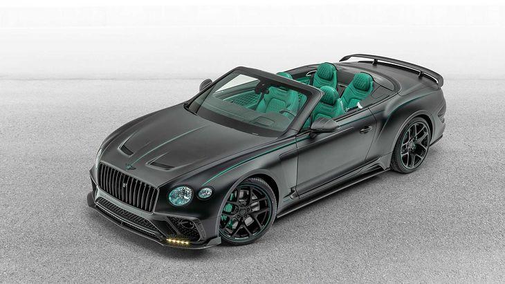 Czy Continental GT może być jeszcze bardziej ostentacyjny?