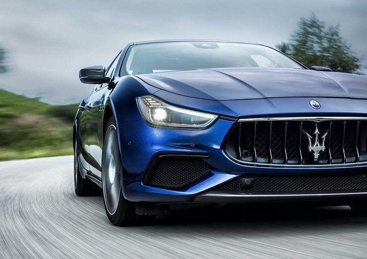 Ghibli - najpopularniejszy ze współczesnych modeli Maserati.