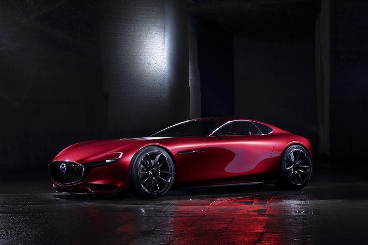 Mazda RX Vision Concept została pokazana jeszcze w 2015 roku