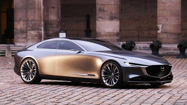Mazda Vision Coupe zapowiada kolejną generację modeli klasy średniej.