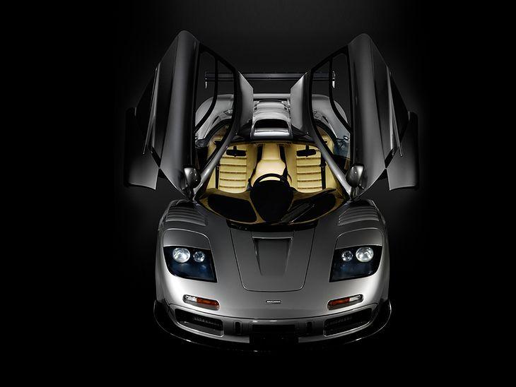 McLaren F1 z pakietem aerodynamicznym