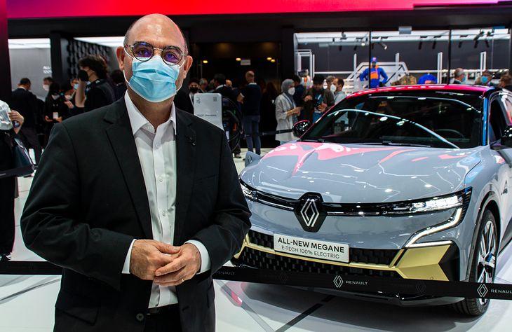 Bruno Vanel i dzieło jego zespołu: Renault Megane E-Tech