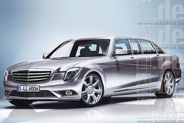 Mercedes-Benz S600 Pullman 2014