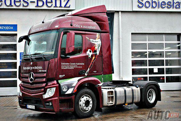 Groovy Mercedes-Benz Actros MP4 - Transporters [waga ciężka] | Autokult.pl FJ22