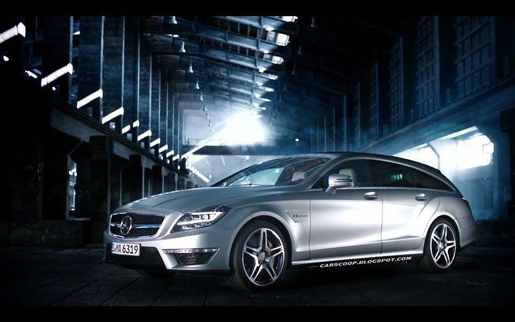 Mercedes-Benz CLS63 AMG Shooting Brake (źródło: Carscoop)