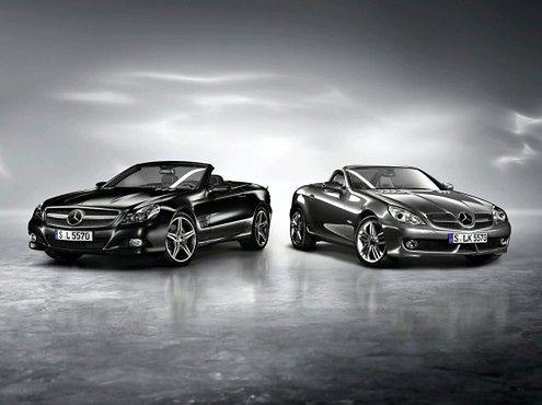 Mercedes-Benz SL Night Edition i SLK Grand Edition