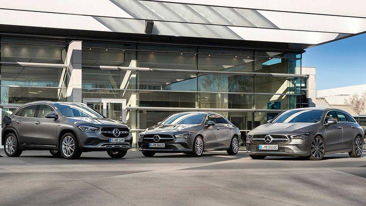 Dwa nowe modele, trzy auta. CLA występuje bowiem w dwóch wersjach nadwoziowych.