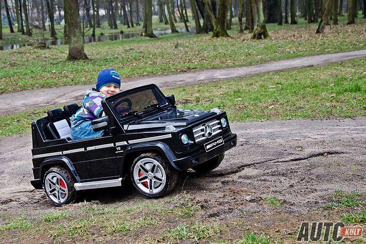 Takim niepozornym pojazdem dziecko może się nauczyć jeździć. A potem... gokart?