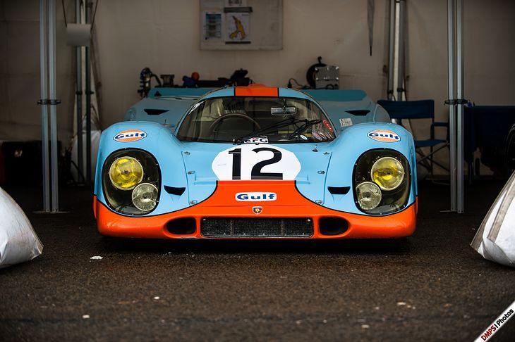 "Porsche 917KH ""Gulf Racing"", podwozie 917-008, Spa Classic 2019."