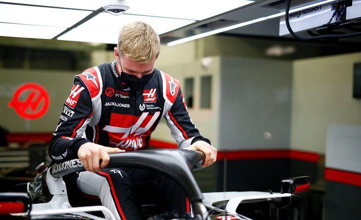 Mick Schumacher w barwach Haasa.