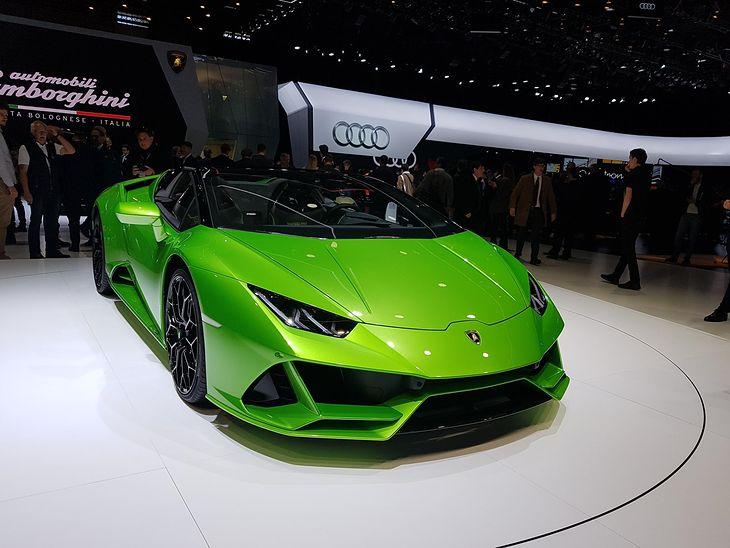 Lamborghini Huracán EVO Spyder (2019)