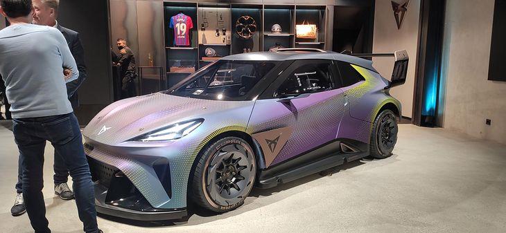 Cupra UrbanRebel Concept, choć wygląda jak rajdówka, zapowiada crossovera, który pojawi się w 2025 r.