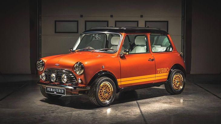 Mini Remastered inspirowane Lotusem Bonda to wyjątkowo piękne połączenie.