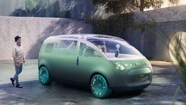 Urbanaut to wszechstronny pojazd przyszłości.