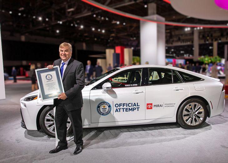 Toyota Mirai pobiła rekord Guinnessa. Znowu