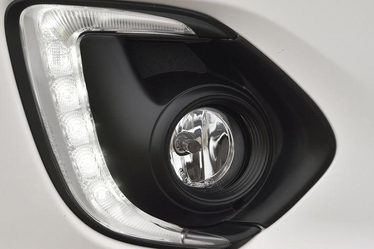 Światła przeciwmgielne Mitsubishi