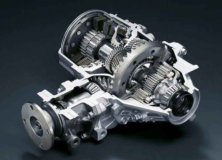 Wysoce zaawansowany mechanizm różnicowy z Mitsubishi Lancera Evolution