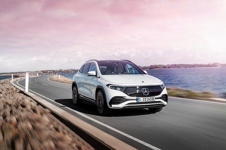 Mercedes EQA to drugi, po EQC, w pełni elektryczny Mercedes