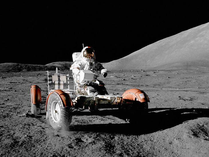 Apollo 17 LRV (fot. NASA)