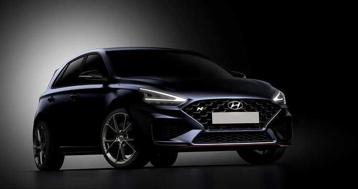 Hyundai i30 N po liftingu zyskał na zadziornym designie